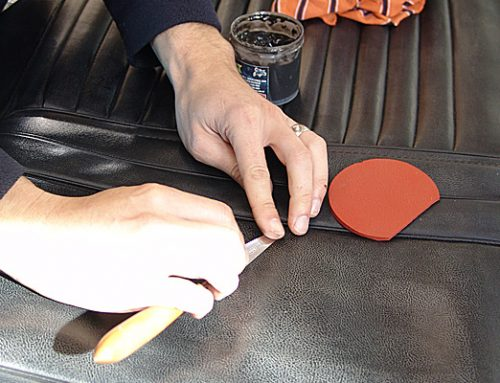 Buick Leather Seat Tear Repair