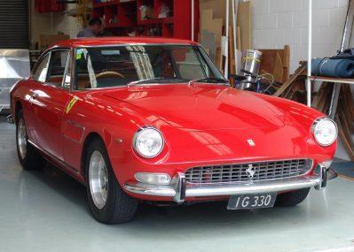 ferrari 330 restoration