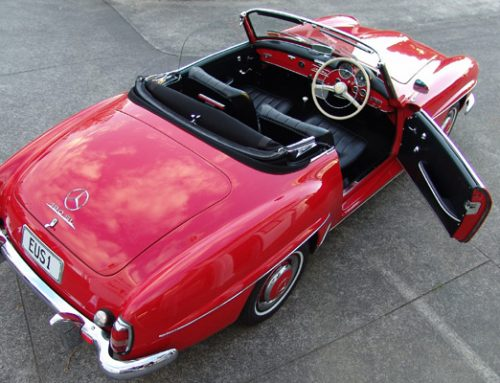 Mercedes SL190 Restoration