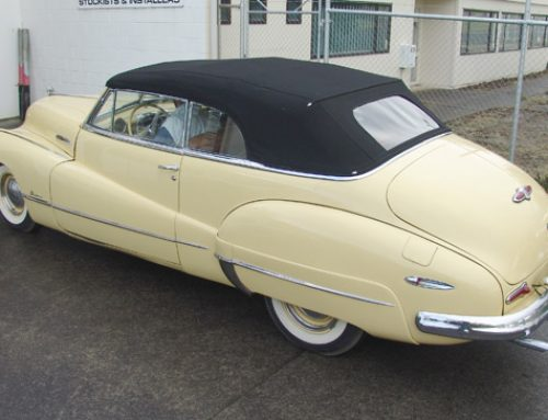 Buick Roadmaster Soft Top Restoration