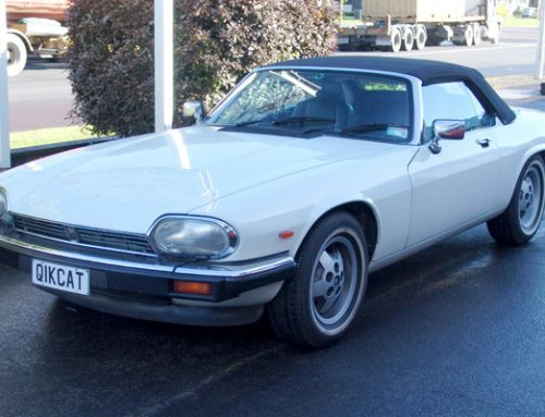 Jaguar XJS Soft Top