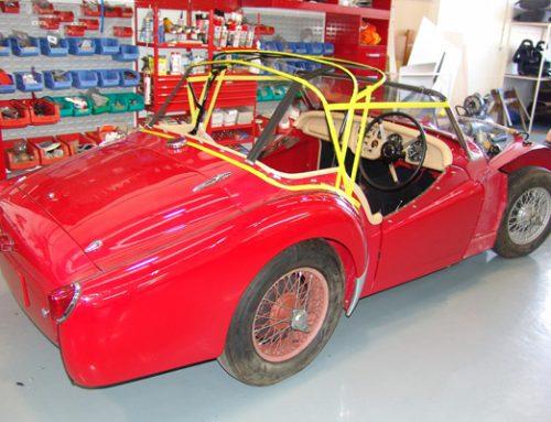 Triumph TR2 Soft Top