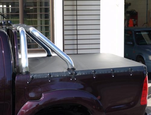 Watertight Tonneau for Hilux