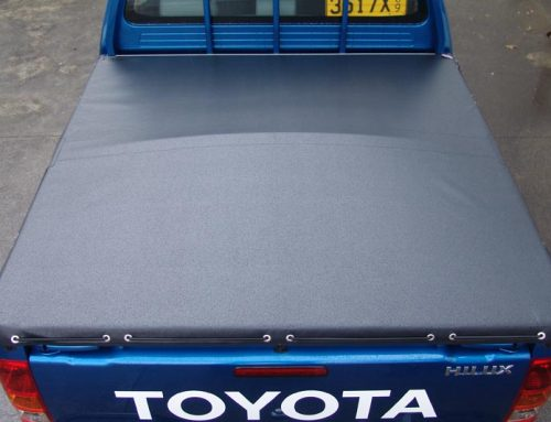 Shock Cord Secures this Tonneau