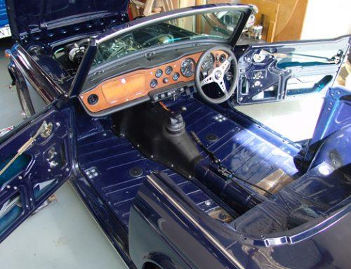 Triumph TR5 Restoration