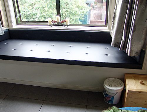 Leather Window Seat for Residential Homes