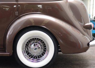 1937 Chevrolet Deluxe Sedan Restoration