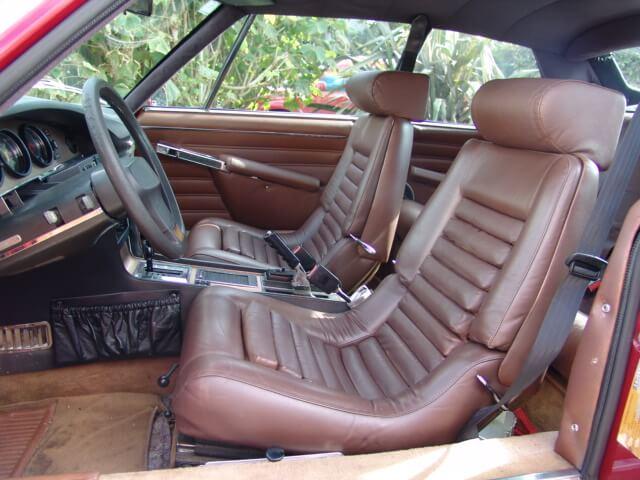 Upholstery for Citroen SM