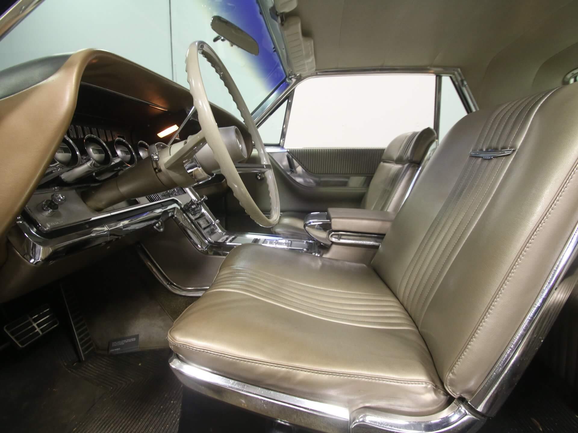 Ford Thunderbird 1964 T bird interior light beige code 54A