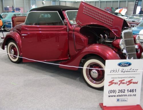 Ford Cabriolet 1935 Restoration