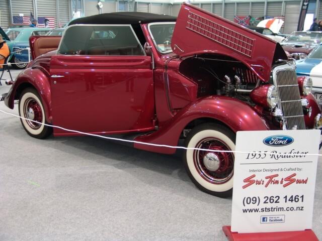 Ford Cabriolet 1935 Restoration