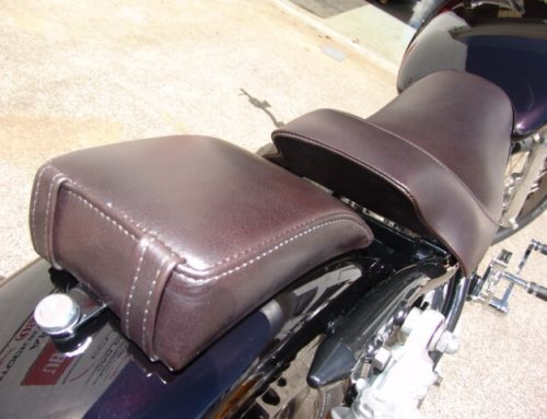 Harley Davidson Custom Leather Seat