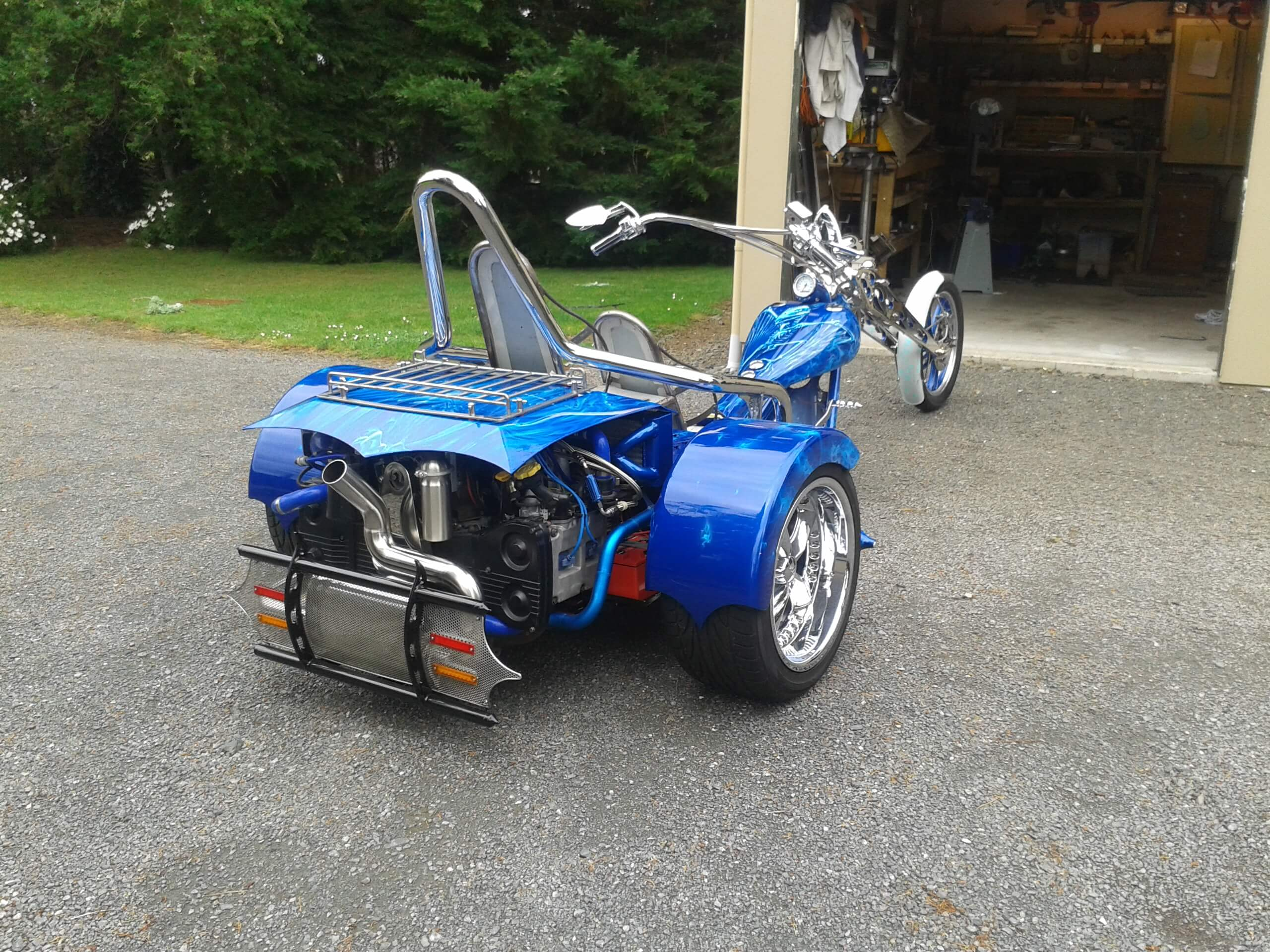 Subaru WRX twin turbo trike finished photos 003